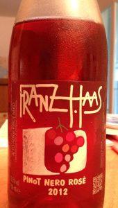 Franz_Haas_rosé_2012