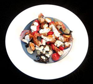 Tomatensalat_Pilze_Garnelen